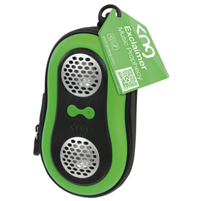 Green Mobile / MP3 Player Protective Case - Listen to Tunes whilst in Case