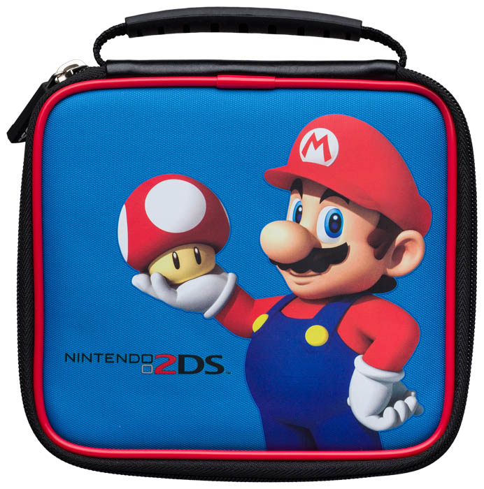 Nintendo 2ds mario carry case for Housse 2ds mario