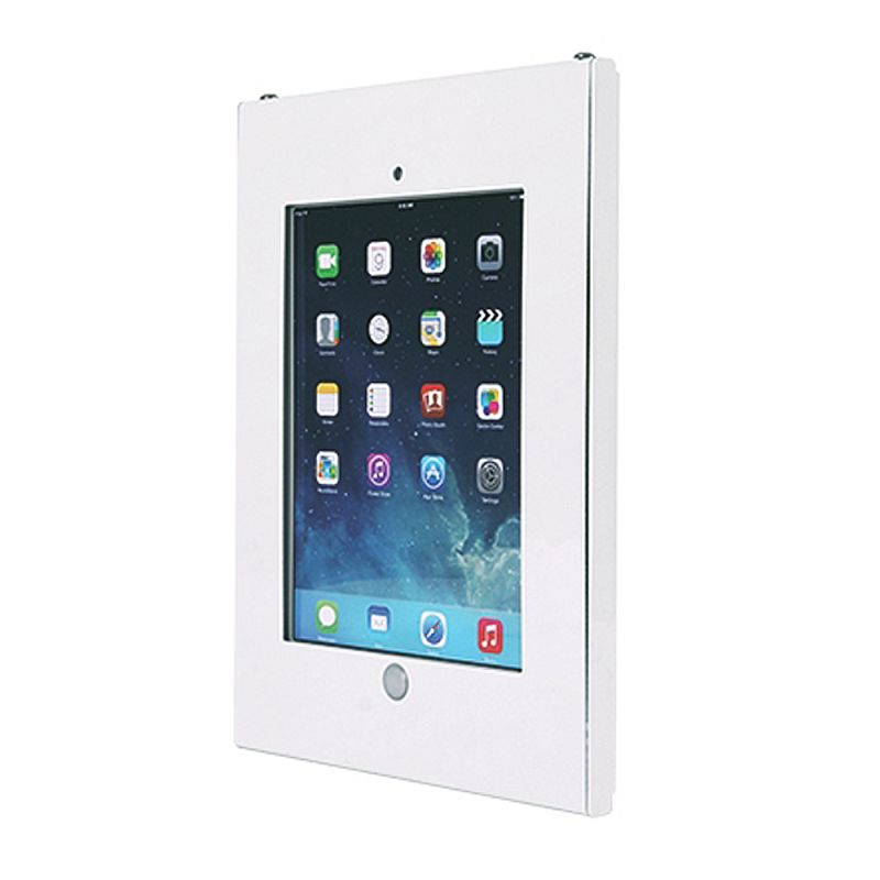 Anti Theft Ipad Wall Mount Enclosure White Cables4all