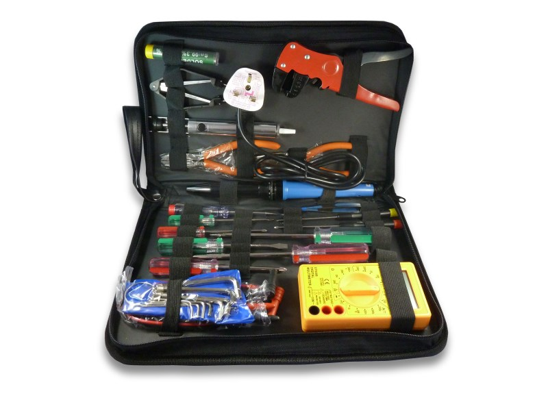 Electronics Tool Kit Hand Tools For Electronic Tasks