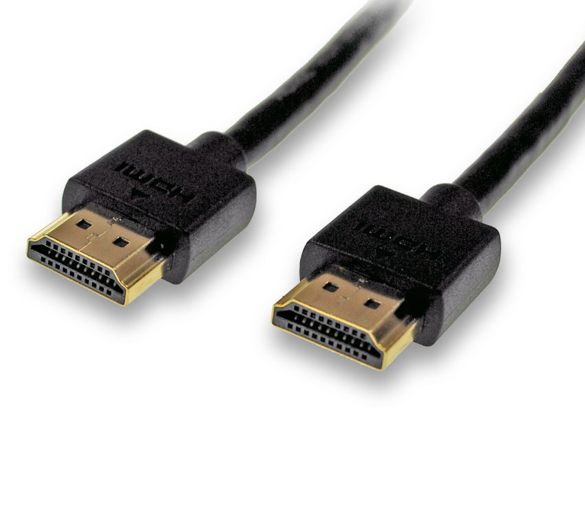 1 5m Hdmi Cable Featuring Slim Hdmi Plugs Cables4all