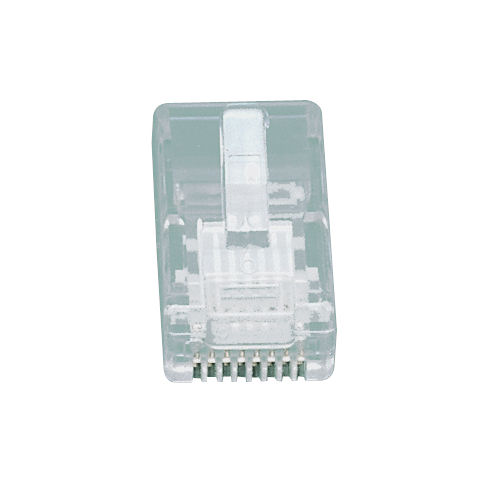 Modular Rj45 Plugs Cat5e Network Connectors For Flat