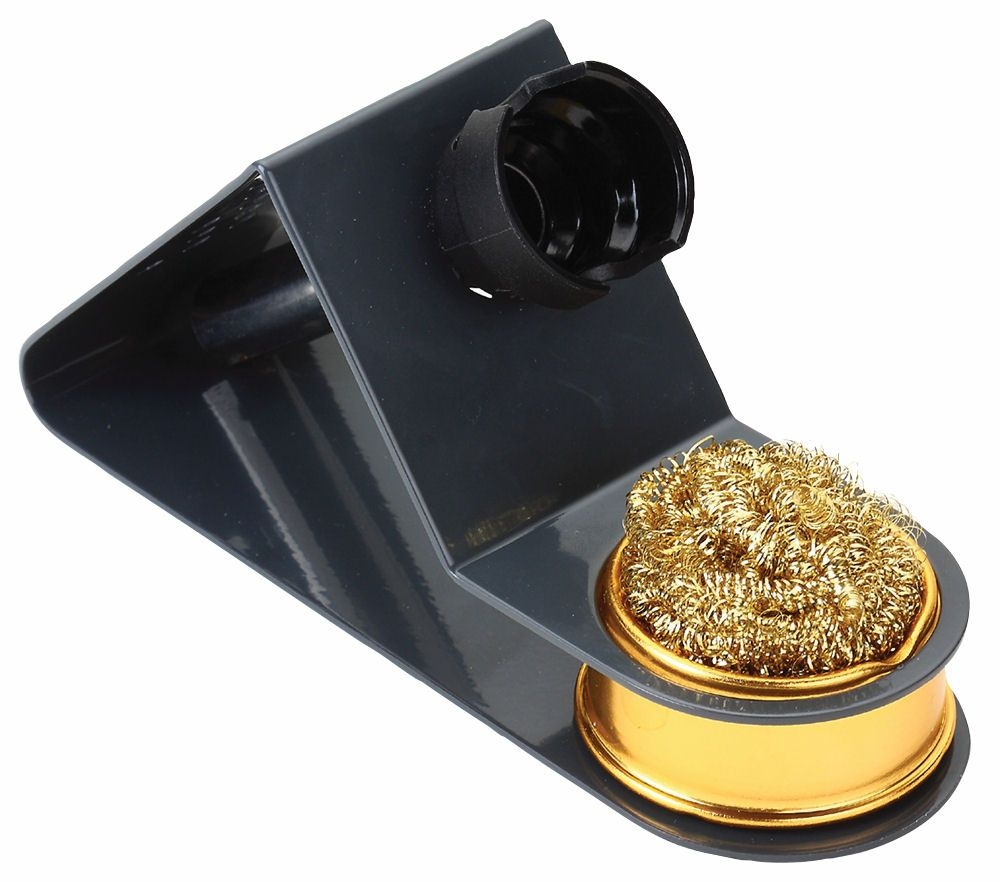 quality soldering iron stand with brass wire cleaning ball cables4all. Black Bedroom Furniture Sets. Home Design Ideas