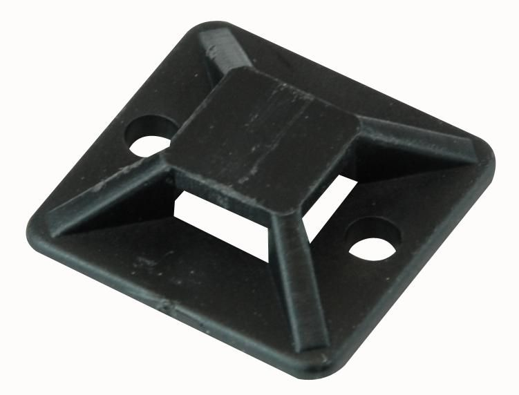 Self Adhesive Cable Tie Mount Bases Black Or White
